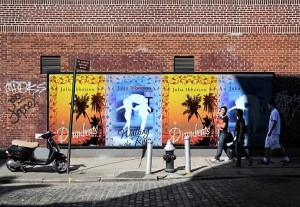 Drumbeats and Walking poster PhotoFunia-